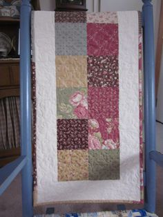 Garden Party Quilted Table Runner by thePATchworksshop on Etsy