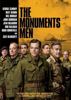 The Monuments Men, Movie on Blu-Ray, Action Movies, Drama Movies, War & Western Movies, even more movies, even more movies on Blu-Ray