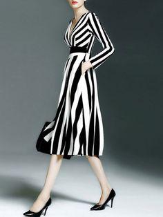 Paneled Healthy fabric Midi dress