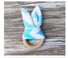 Handmade-Chew-Wooden-Teething-Chewie-Teether-Bunny-Teething-Ring-M744-761