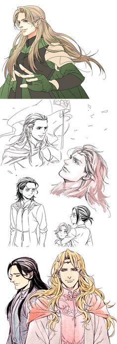 Silmarils-skethes2 by Athew on DeviantArt
