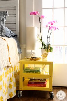 Style 1: Bedside Table  @Michael Wurm, Jr. {inspiredbycharm.com}: Styling with CB2