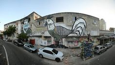 "Bozo Bacamarte ""CABIDELA"" realizado no festival @alemdarua está no ""THE BEST MURALS OF 2015"" no STREET ART BRAZIL 💪✊ 🎨 #alemdaruafestival #bozobacamarte #streetart #arteurbana #fortaleza #pernambuco"