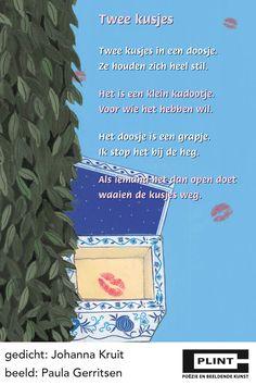 * Versje: Twee kusjes in een doosje... Learn Dutch, Story Poems, Poem A Day, Dutch Quotes, Special Quotes, Little Books, Book Nerd, Beautiful Words, Make Me Smile