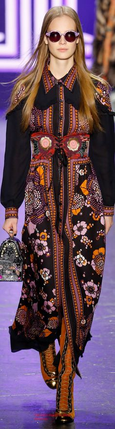 Fall 2016 Ready-to-Wear Anna Sui