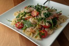 Farfalle Pasta and Shrimp | Relished Foods - http://www.relishedfoods.com/meals/farfalle-pasta-and-shrimp