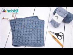 In this video you will learn how to crochet the waffle stitch potholders, working in US Terms. STEP-BY-STEP 👀 The project is worked holding 2 strands togethe. Crochet Waffle Stitch, Bobble Stitch, Cable Cast On, Stretchy Bind Off, Front Post Double Crochet, Crochet Hook Set, Crochet Kitchen, Single Crochet, Crochet Projects