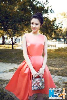 Chinese actress Zhang Huiwen  http://www.chinaentertainmentnews.com/2015/10/actress-zhang-huiwen-releases-new.html