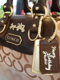 Prada Coach Michael Kors And More These Purse Cakes Look Like The Real Thing