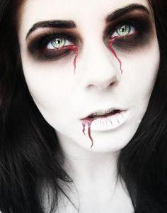 Maquiagem de Halloween | http://nathaliakalil.com.br/maquiagem-de-halloween/ Mehr