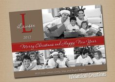 Photo Christmas Card Holiday Card  Family by WhimsicalCreationsPC, $14.99