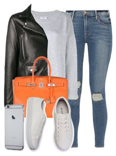 """Sin título #12019"" by vany-alvarado ❤ liked on Polyvore featuring Frame, Acne Studios and Hermès"