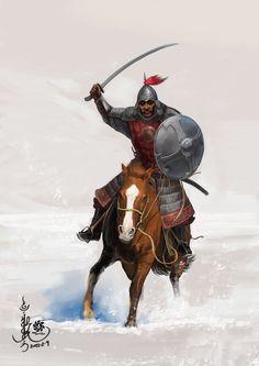 Mongol Cavalry - Golden Horde by HappyMorningStar on DeviantArt