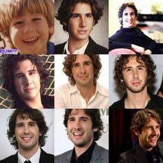 omg!!! look at the timeline!!! i think i like the left one on the 2nd line the most! -- Josh Groban / josh groban