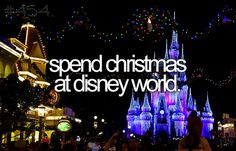 spend christmas at disney world
