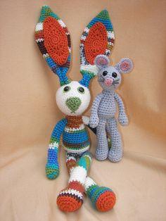 """Foo Foo Combo Crochet Amigurumi Pattern Set. $5.98, via Etsy."" #Amigurumi  #crochet"