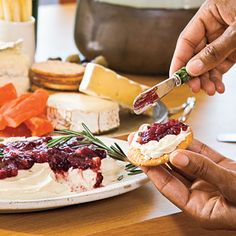 Texas Cranberry Chutney Recipes Plus 40 Party Appetizer Recipes - Southern Living Best Party Appetizers, Finger Food Appetizers, Easy Appetizer Recipes, Finger Foods, Appetizer Ideas, Party Recipes, Light Appetizers, Appetizer Party, Appetizer Dishes