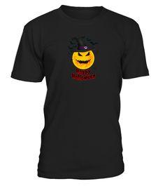 Halloween Yellow Moon and Bats Art  #birthday #october #shirt #gift #ideas #photo #image #gift #costume #crazy #halloween