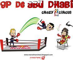 formula one cartoons | Continental Circus: Formula 1 em Cartoons - Abu Dhabi (Crazy Circus)