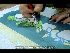 Mulher.com 30/08/2013 Marisa Magalhães - Caixa com Pintura Decorativa P 1/2 - YouTube