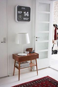 Artcream | Interiors and Lifestyle Blog — Crushing on Black Flip Clocks