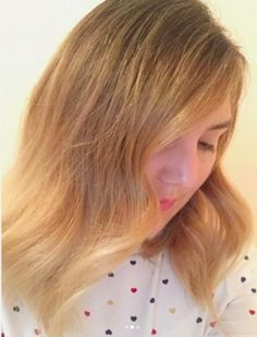 Mixed + melted blonde ombré. Hair by SALON by milk + honey stylist, Thea W.