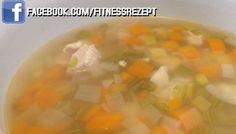 Fitness Hähnchen Suppe