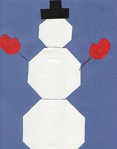 Fact Family Snowman. Pattern included