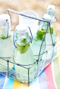 summer-drinks Ginger Soda, Ginger Beer, Summer Drink Recipes, Summer Cocktails, Fruit Drinks, Non Alcoholic Drinks, Beverages, Homemade Pork Pies, Beer Magazine