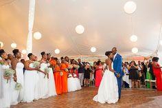 Rustic Chic Haitian Wedding At Full Moon Resort In New York Joelle Frantz