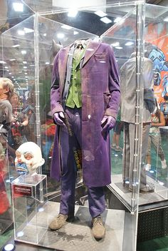 Heath Ledger's Joker costume.