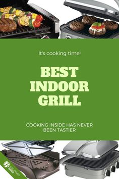 We love meat, and that love doesn't stop when it's too rainy or too cold for outdoor grilling. These are the best indoor electric grills. They are an absolute MUST if you're going somewhere (college, perhaps?) that doesn't have space for outdoor cooking. Best Indoor Electric Grill, Electric Grills, Outdoor Grilling, Outdoor Cooking, Cooking On The Grill, Cooking Time, George Foreman Electric Grill, Small Grill, Grill Plate