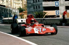 Niki Lauda - 1972 - GP de Mónaco - March 721X