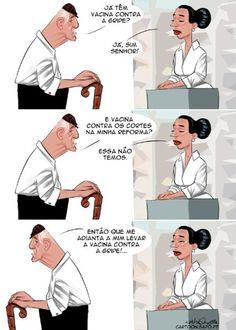 Cartoon: Doença incurável