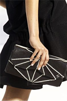 Chanel Pearl Clutch