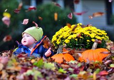 Autumn photo shoot - oh I wish we had more colorful leaves here in the fall!
