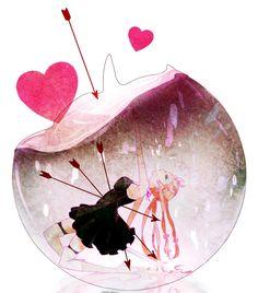 Gasai Yuno - Mirai Nikki / the future diary Asuna, Yuno Mirai Nikki, Anime Manga, Anime Art, Manga Girl, Anime Girls, Creepy, Scary, Mirai Nikki Future Diary