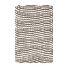 Dash and Albert Rugs Two Tone Rope Fieldstone Ivory Indoor/Outdoor Area Rug