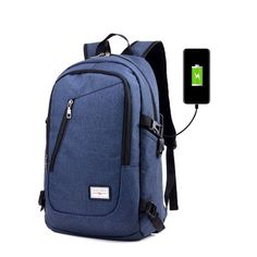 Camping & Hiking Hard-Working 2019 Wholesale Adults High Capacity Usb Charging Laptop Notebook Softback Bag Case Outdoor Sports Camping Traveling Backpacks