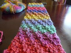 Pretty textured crochet pattern - Crochet Woven Scarf by Michael Sellick, The Crochet Crowd