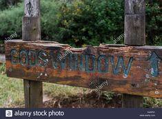 Sign, Gods Window, Panoramic Route, Mpumalanga, South Africa Stock Photo Signage, South Africa, African, Windows, Stock Photos, God, Illustration, Outdoor Decor, Dios