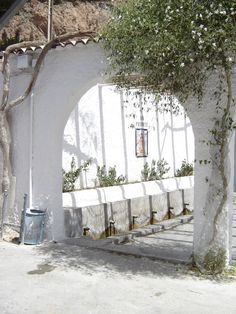 fuerte in Alboloduy - very occasionally, a woman may be seen doing her laundry in places like this Spanish Revival, Spanish Colonial, User Interface Design, Sierra Nevada, Andalusia, Rafting, Patio, Outdoor Activities, Exterior