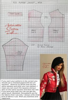 Fashion Dolls Couture - Unlimited: Red Puffer Jacket - Made to Move Barbie - Sewing Barbie Clothes, Barbie Dolls Diy, Barbie Sewing Patterns, Doll Dress Patterns, Barbie Barbie, Ag Dolls, Girl Dolls, Barbie House, Barbie Fashionista