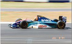 Eddie Irvine Jordan Hart 194 F1.1994 British GP Silverstone.