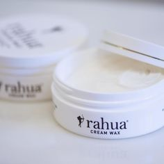 Achieve perfectly #piecey textured hair with @rahuabeauty cream wax! Bonus this product is great for both women and men