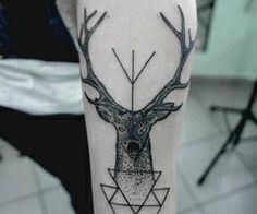 Awesome hipster tattoo