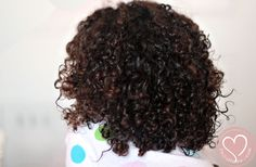 Mixed Hair Care: Night Time Routine for Ringlet Curls - De Su Mama