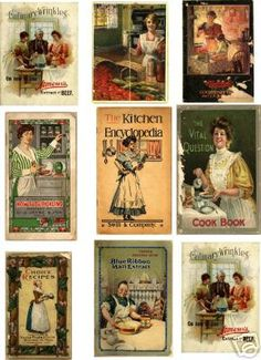 Miniature Printables - Cookbook Covers - LUNALUNERA (Mamen) - Picasa Web Albums.