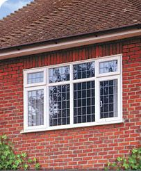 Loving these square lead windows from Safestyle UK.