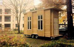 Die 100-Euro-Wohnung ist nicht nur ein Raumwunder, sondern auch mobil. Foto: Van Bo Le-Mentzel / Tinyhouse University